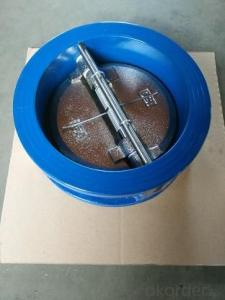 wafer type cast iron check valve