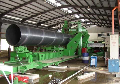 Spiral Welded Pipe Line roll forming machine