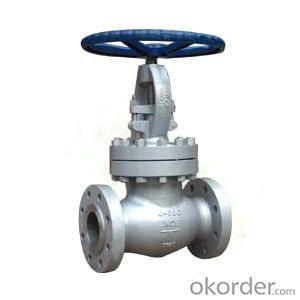 wcb globe valve DN100