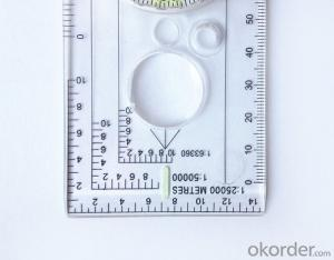 Map Scale Compass or Ruler Compass DC40-3A
