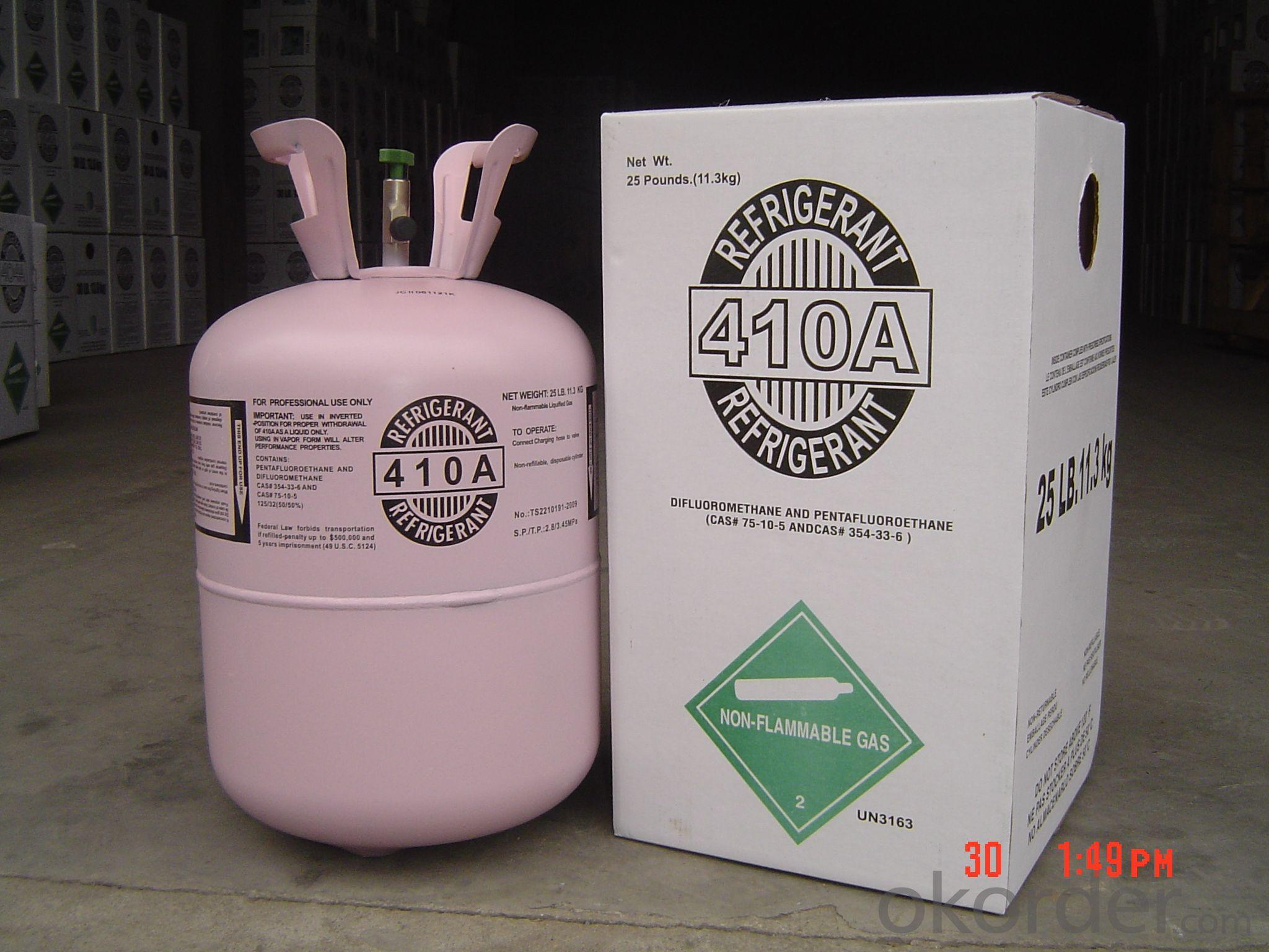 Refrigerant R410a in 25LB
