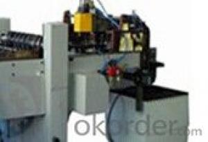 Automatic Scroll Shearing Machine Twist Off Cap Making Line