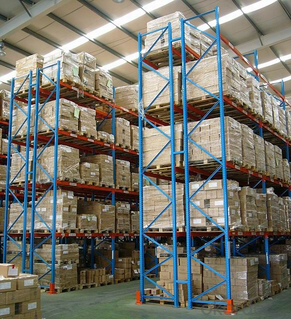 Beam Type Plate  Racking System for warehouse