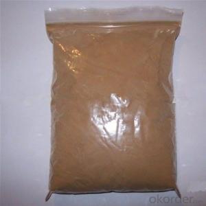 sulphonated naphthalene formaldehyde admixture