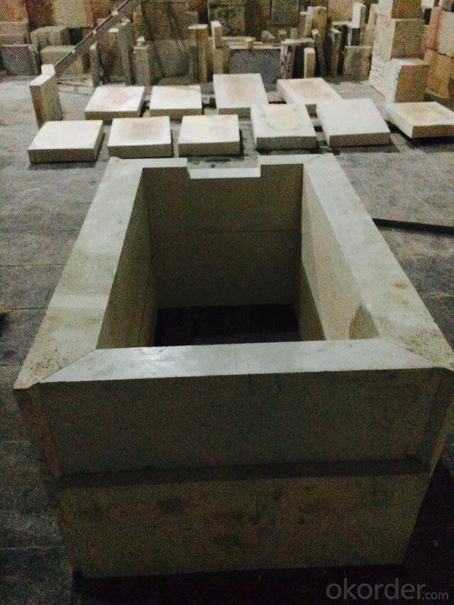 Second Hand- Zircon Corundum Brick(used)-80%