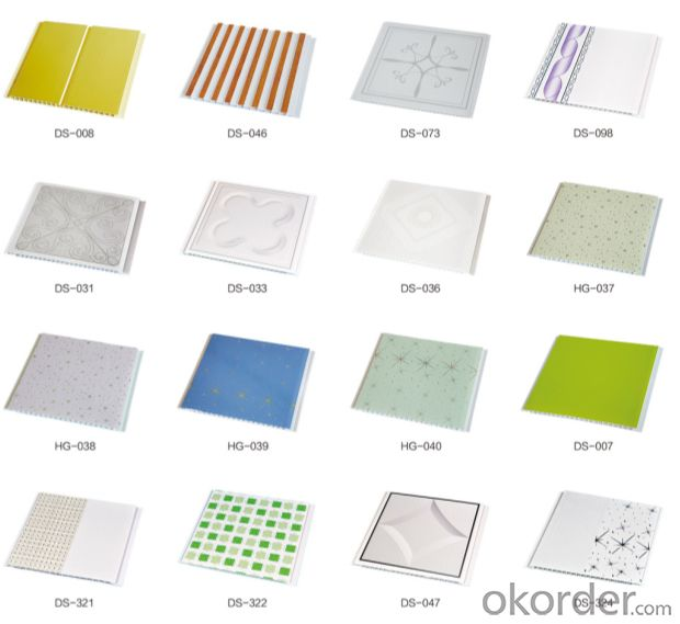 PVC Ceiling CE , Hot Stamp Foils  Offered with Steady Quality
