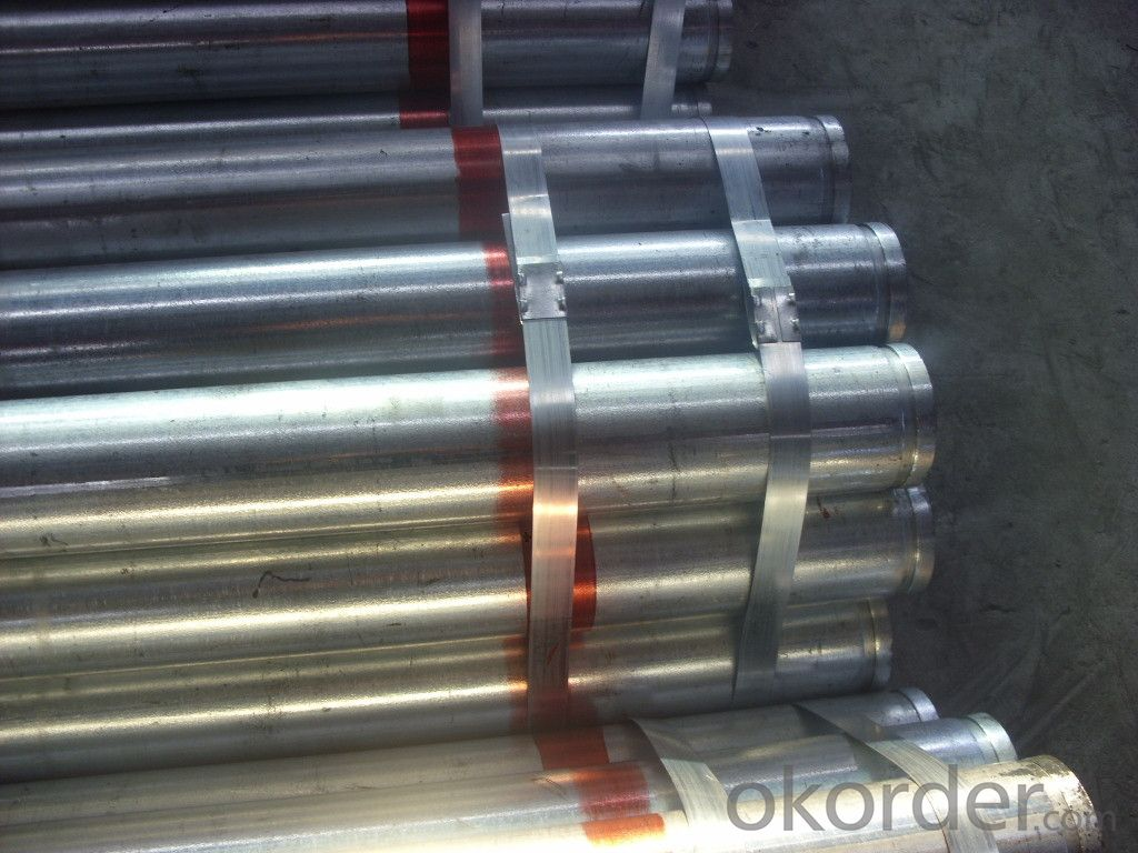 seamless grooved pipe for fire fighting