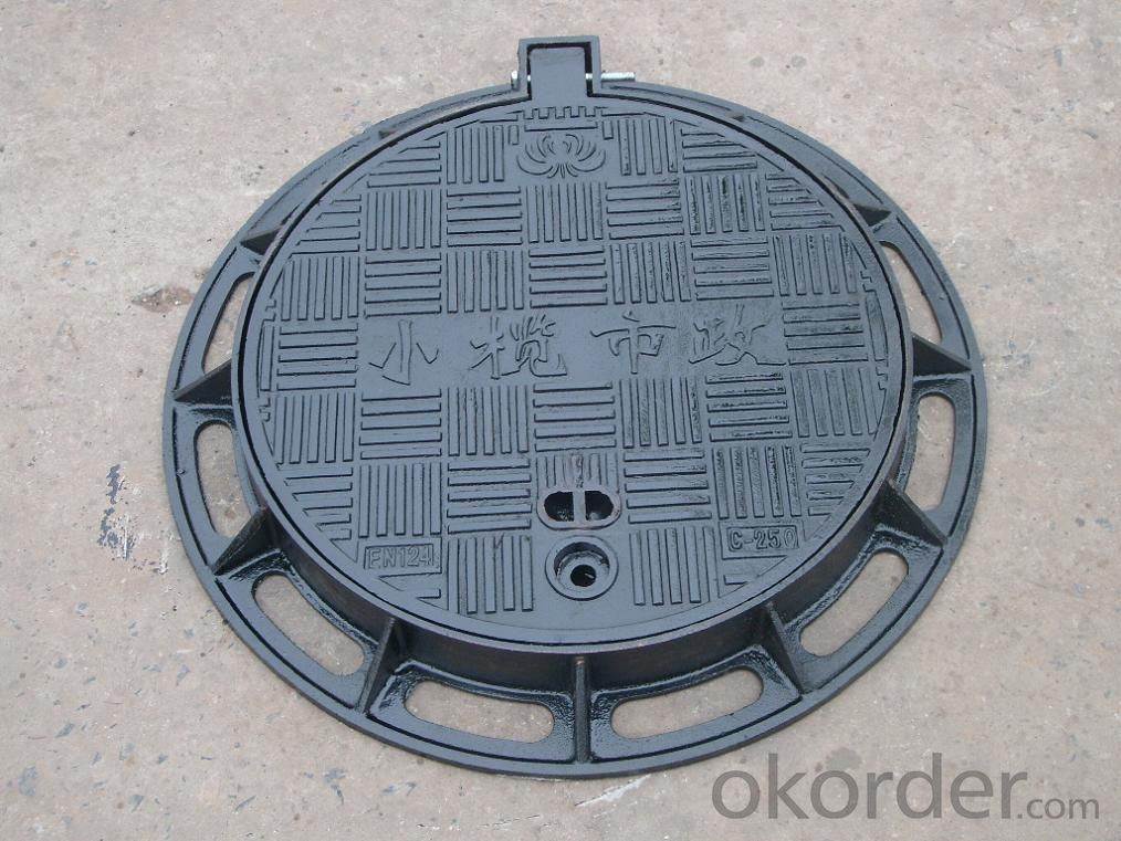 Ductile circular manhole covers