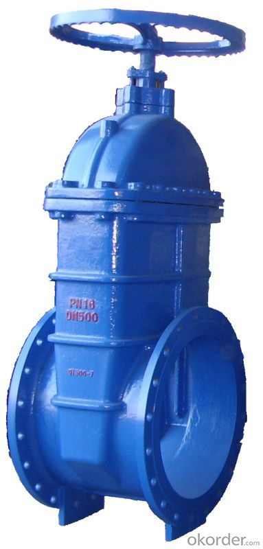 Gate Valve BS5163 Resilient Seated for Water System