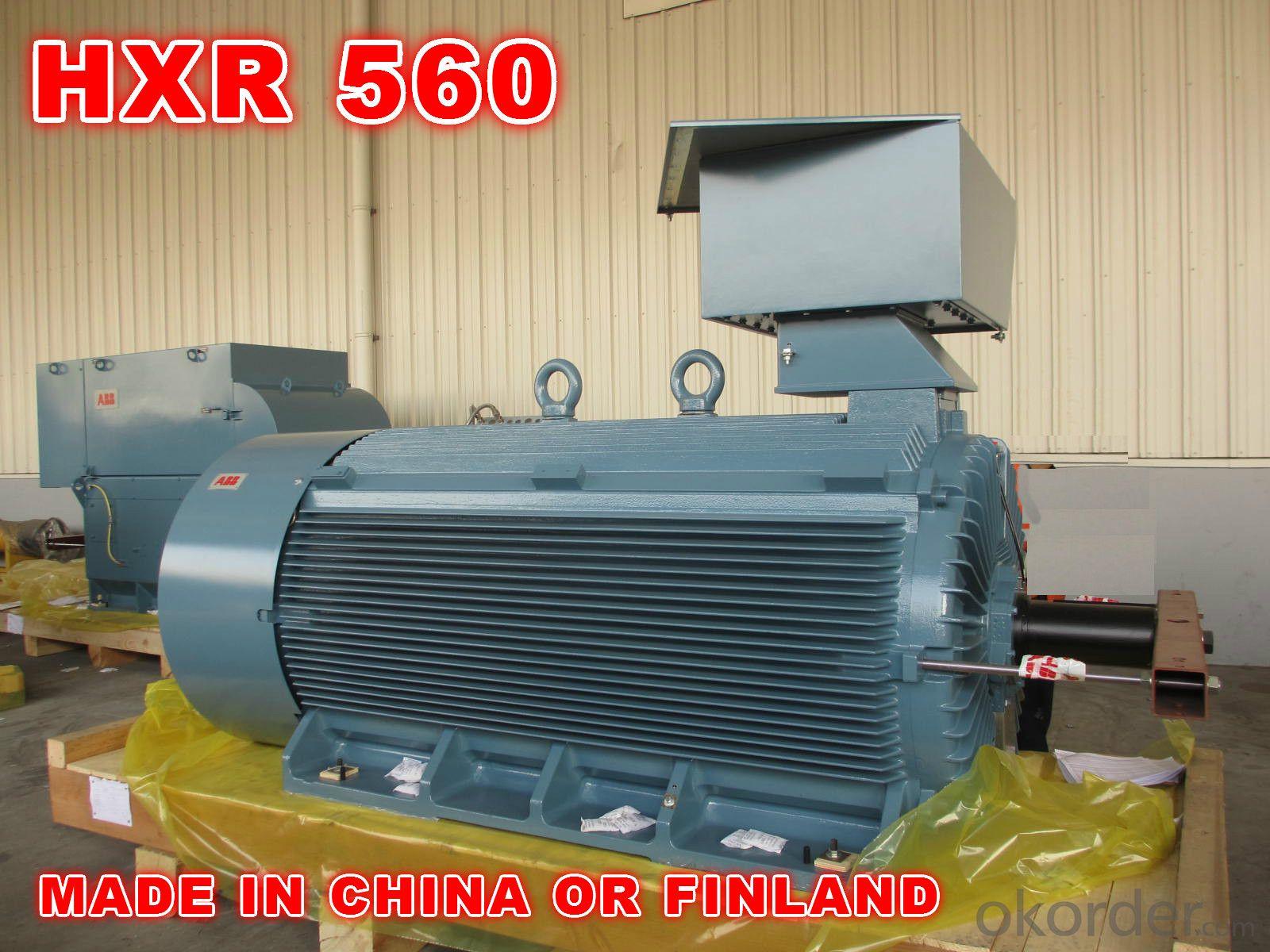 ABB AC Motor High Voltage HXR560