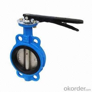 Ductile Iron Butterfly Valve DN200