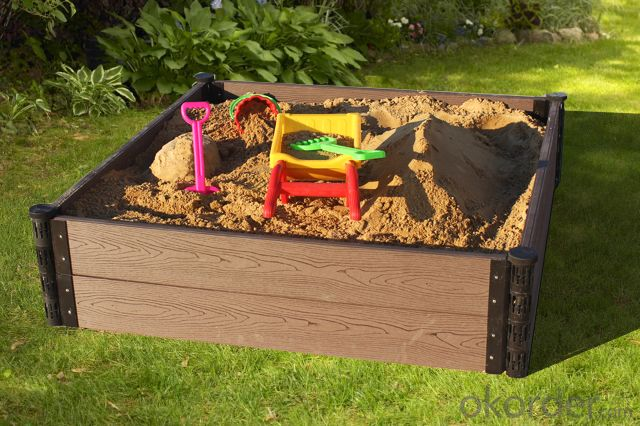 Europe Best Seller Wood Plastic Composite Sand Box
