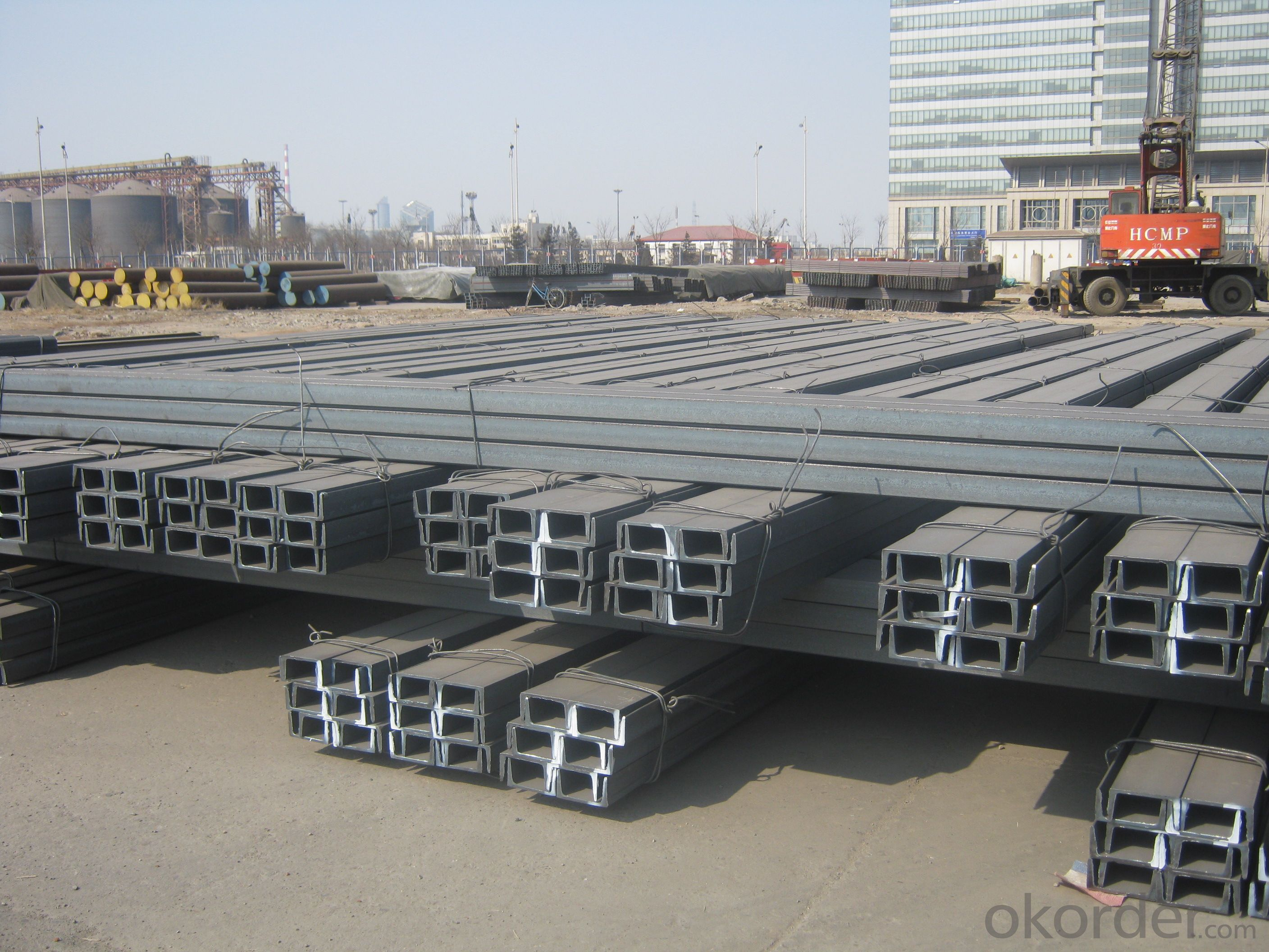 Hot  Rolled JIS Standard Channel with Many SIzes