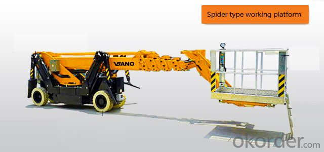 VBANO BRAND SPIDER TYPE BOOM WORKING PLATFORM-VB04040117