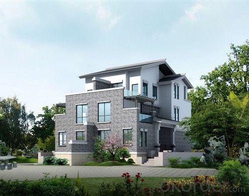 luxury modern light steel villa 3#