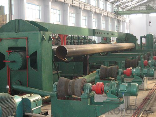 seamless welded pipe hydrotester machine roll forming