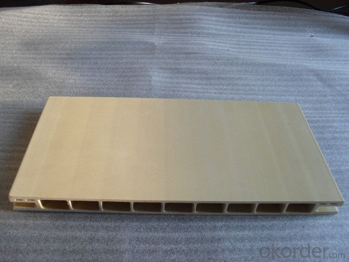High Degree of UV and Color Stability WPC Door Frame