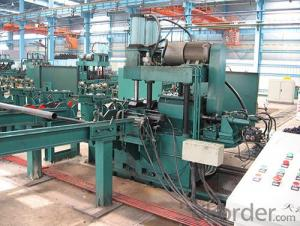 straight seam welded pipeflat head chamfering machinery
