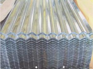 Aluminum sheet for corrugated