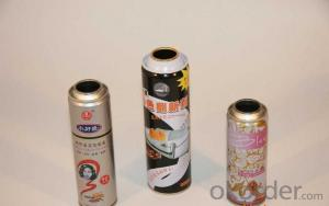 Empty Aerosol Spray Can For Hair Care, 57mm