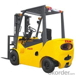 Gasoline Forklift Truck- FG15/20
