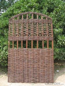 WILLOW NATURAL GARDEN TRELLIS DECORATION