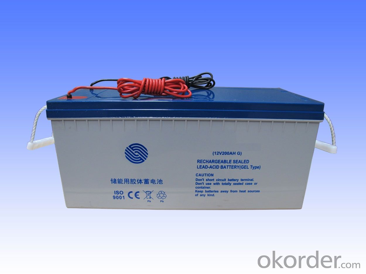 Gel Storage Battery For Solar And Wind System