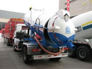 HOWO SEWAGE SUCTION TRUCK