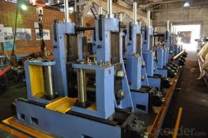 Pre welding and finish welding production line