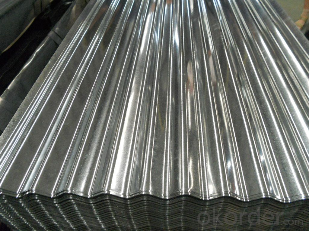 Corrugated Hot -Dipped Galvanized Steel Sheets