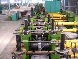 H.F pipe line / Ф325 Pipe Mill roll forming machinery