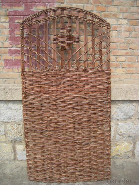NATURAL WOVEN WILLOW DECORATION