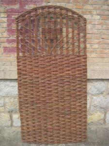 WILLOW NATURAL BACKYARD TRELLIS DECORATING PANEL