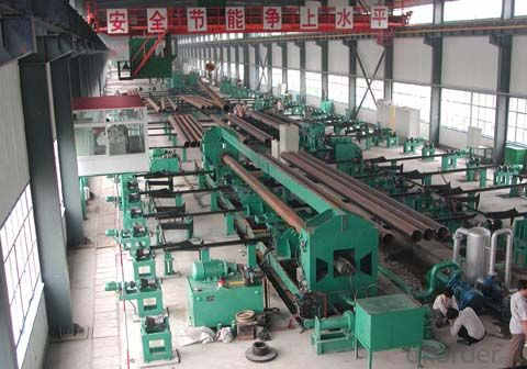 seamless welded pipe hydrotester mill roll forming machine