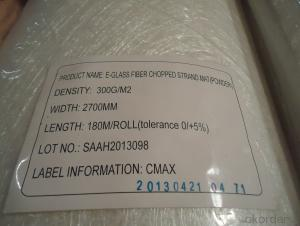 E-glass Chopped Strand Mat 2700mm