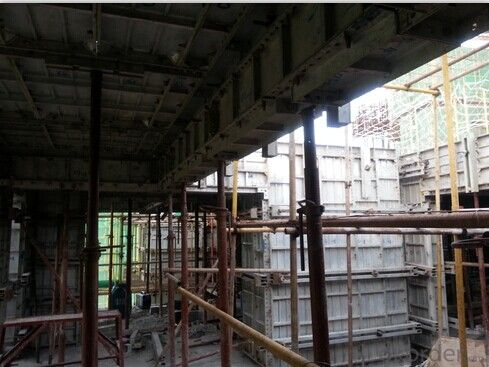 Energy-efficient Building Formwork System Made by Aluminum Alloy