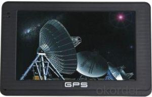 China GPS Navigator 4.3 inch 800MHz ISDB-T,AV-IN,BT,FM,TMC optional