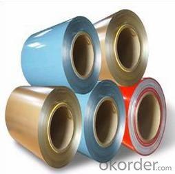 Pre painted aluminum coil
