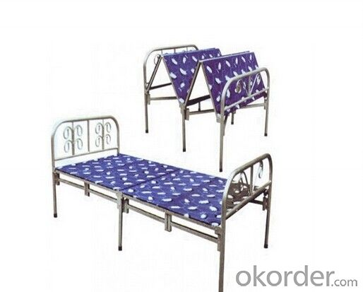 Folding Bed by Iron Tube