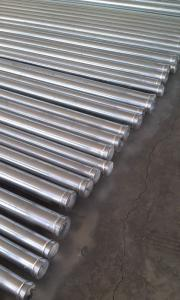 Galvanized Victaulic Shouldered grooved Pipe for mining and tunnei