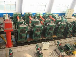 H.F pipe line / Φ508 pipe mill roll forming machine