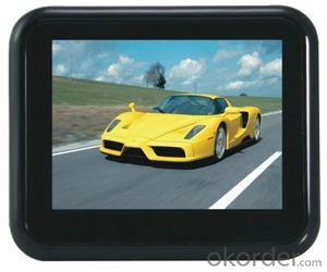 Touch screen 3.5 inch GPS navigation,free map installed