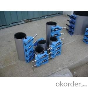 Full Seal Stainless Steel Repair Clamps