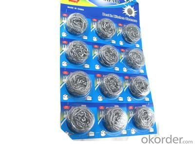 Galvanized Wire 0.13mm for Kitchen Scrubber /Mesh Scourers /Cleaning Ball