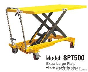 Manual Lift Table- SPT500