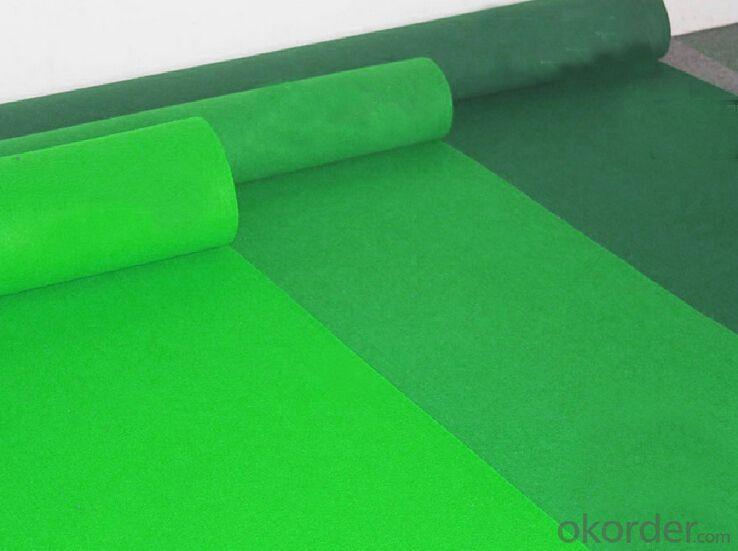 Needle Punched Nonwoven Velour Exhibition Carpet