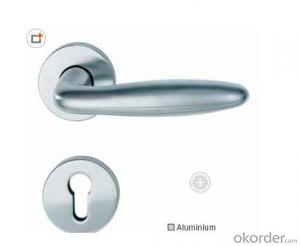 UPVC Cranked Chain Window Handle with Lock/Window Accessories/Door Accessories