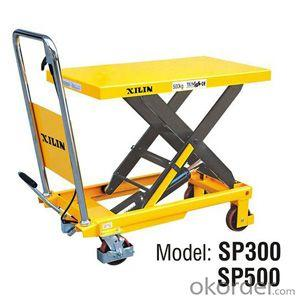 EU Type Manual Lift Table- SP300/500