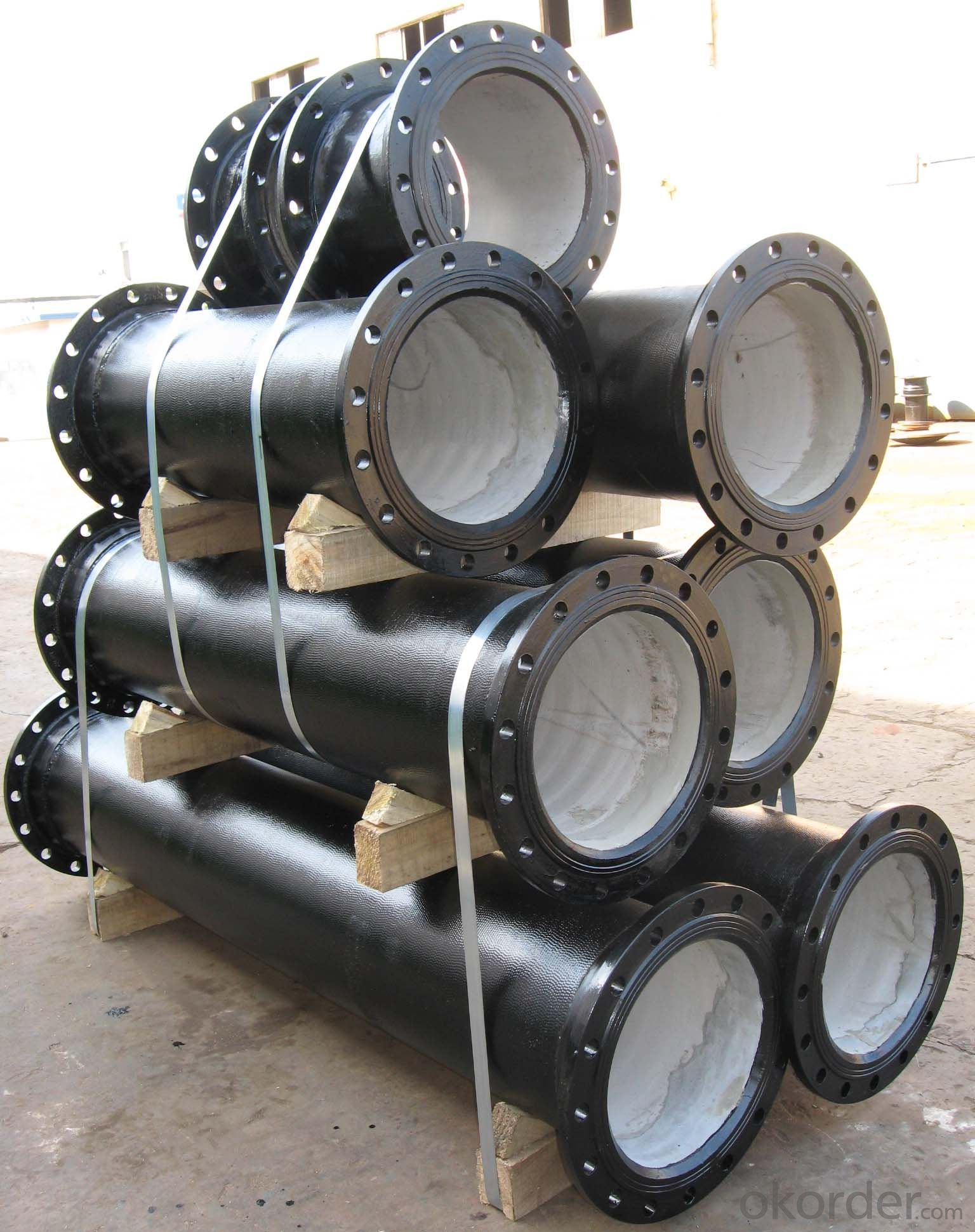 Ductile Iron Pipe Fitting Short Pipes ISO2531/EN545