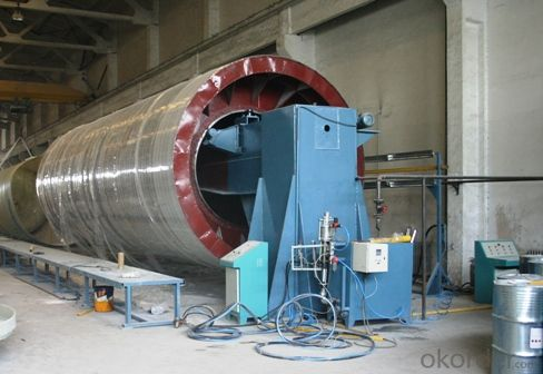 FRP TANK FILAMENT WINDING MACHINE DN1000-3000